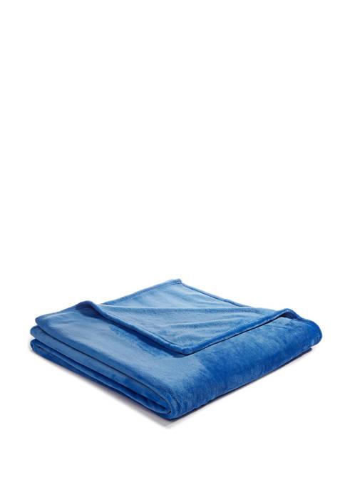 Lightning Bug Solid Fleece Blanket