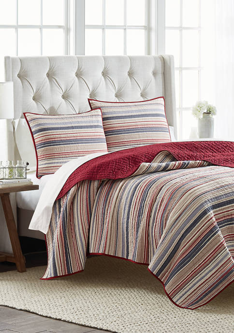 Modern. Southern. Home.™ Americana Stripe Quilt