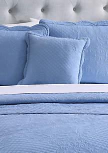 Scalloped Tiles Decorative Pillow