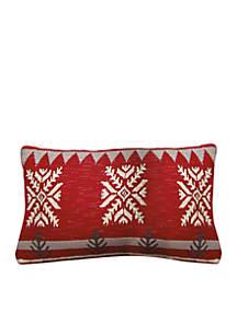 Big Snowflake Pillow