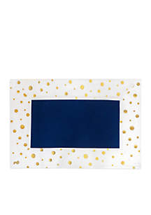 Gold Polka Dots Placemat