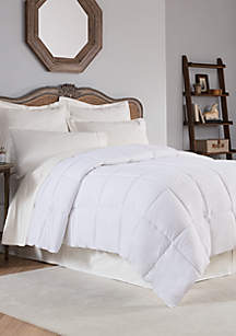 Reversible Solid Down Alternative Comforter
