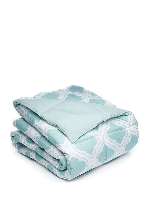 Trellis Reversible Down Alternative Comforter