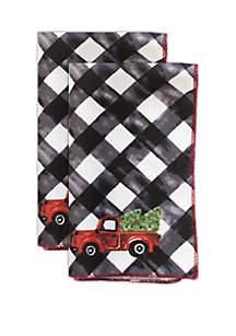 Festive Trucks Napkin Set