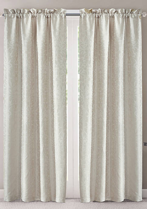 2 Pack Jacquared Curtains