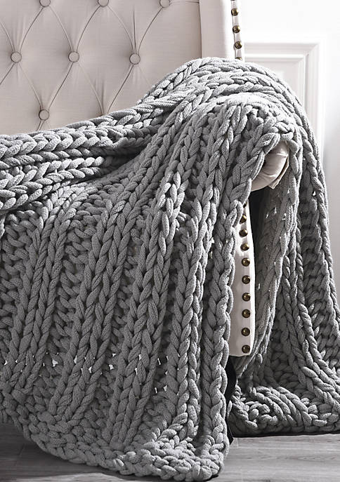 Amrapur Overseas Chunky Knit Throw
