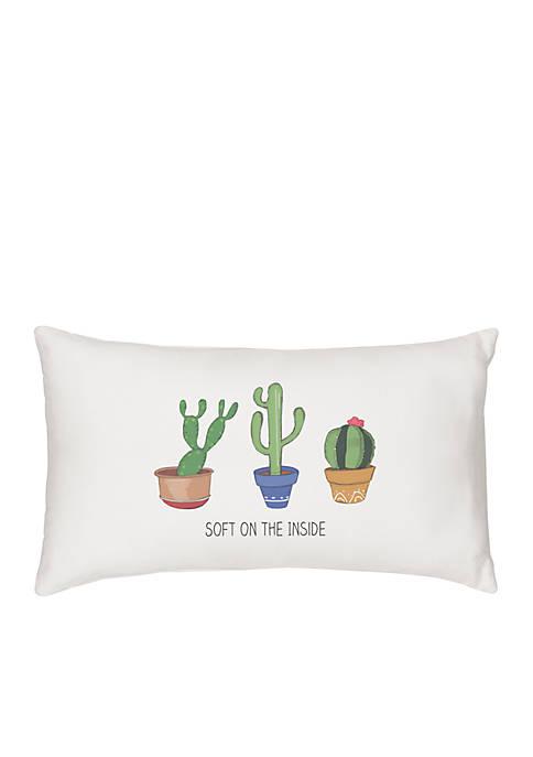 Cathy's Concepts Cactus Lumbar Pillow