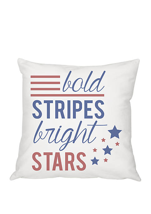 Cathy's Concepts Stars and Stripes 16 Inch Throw
