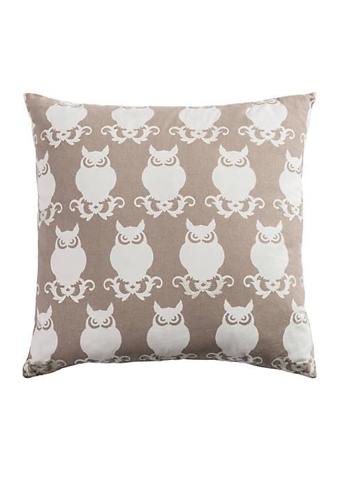Owl Decorative Filled Pillow