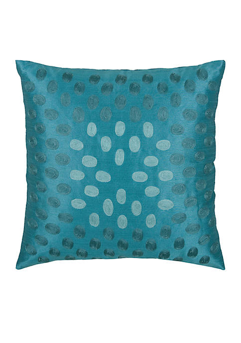 Rizzy Home Dot Embroider Pillow