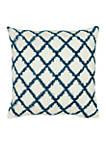 Ivory Diamond Pillow
