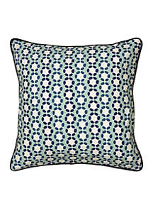 Joined Goes- Shows As A Stripe Navy Decorative Filled Pillow