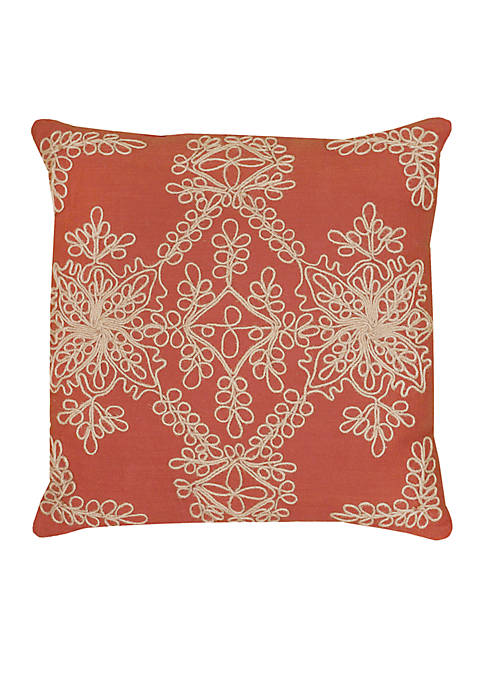 Rizzy Home Jute Cord Pillow