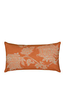 Floral Decorative Filled Pillow