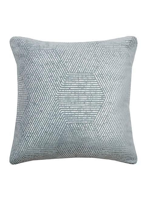 Rizzy Home Hexagon Pillow
