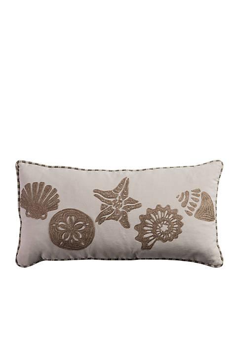 Sand Dollar and Starfish PIllow
