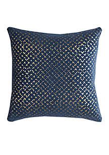 Rizzy Home Geometric Velvet Pillow