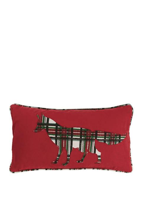 Tartan Fox Pillow
