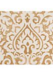 Gold Damask Pillow