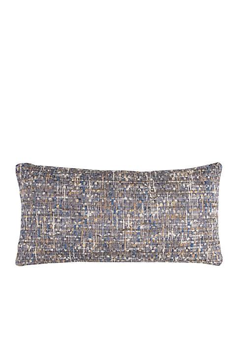 Rizzy Home Allover Thread Cotton Pillow