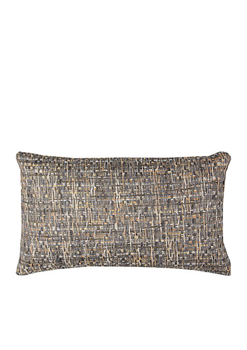 Rizzy Home Gray Heather Pillow