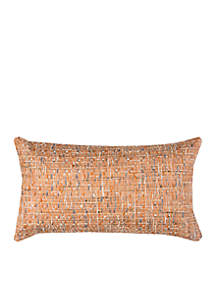 Orange Decorative Cotton Pillow