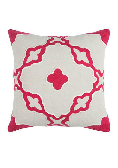 Medium Cotton Decorative Pillow