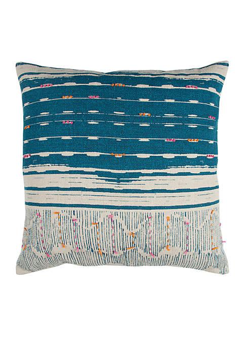 Stripe Cotton Decorative Pillow
