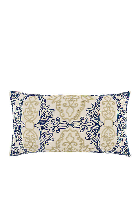 Medallion Decorative Filled Pillow