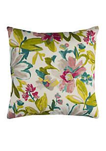 Elberta Green Decorative Filled Pillow