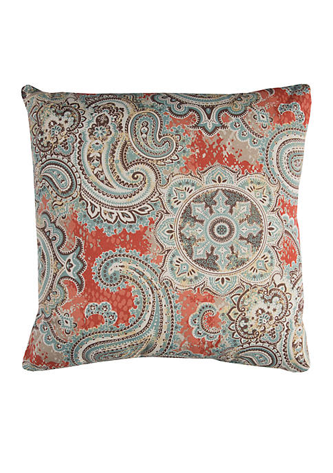 Rizzy Home Houssie Blue Decorative Filled Pillow