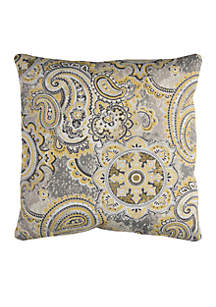 Houssie Yellow Decorative Filled Pillow