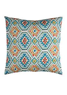 Eresha Blue Decorative Filled Pillow