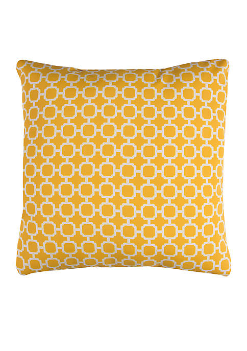 Rizzy Home Hockley Green Decorative Filled Pillow