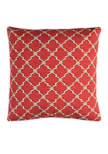 Eaton Yellow Decorative Filled Pillow