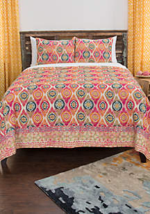 Rizzy Home Serendipity Geometric 3 Piece Quilt Set