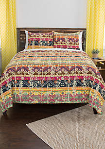 Dash Reversible 3-Piece King Quilt Set