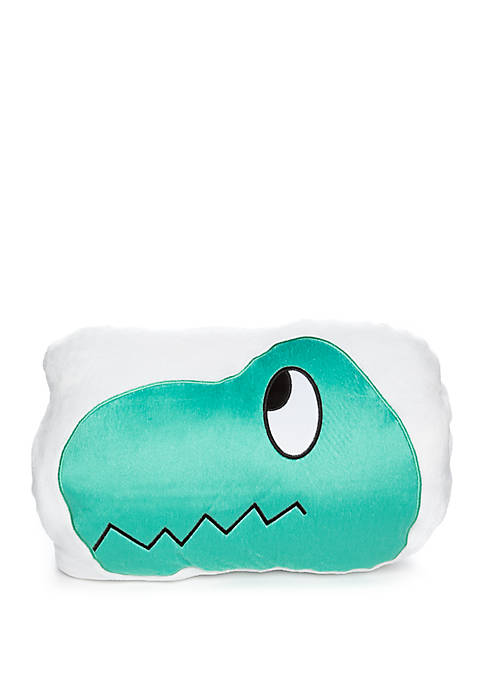 3 in 1 Pillow and Throw - T Rex