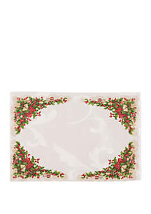 Ornaments and Ribbons Placemat