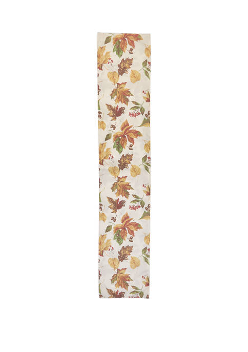 14 in x 72 in Harvest Orchard Table Runner