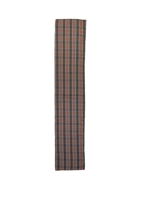14 in x 72 in Madison Plaid Table Runner