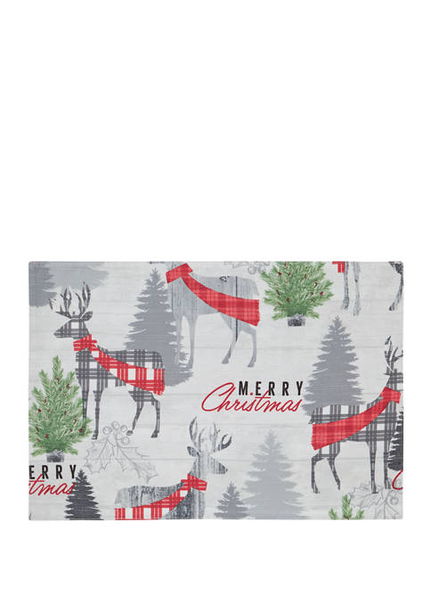 Christmas Deer Placemat