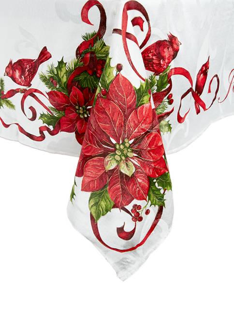 Modern Southern Home Christmas Cardinal Tablecloth Belk