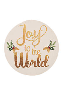 Joy To The World Placemat Set
