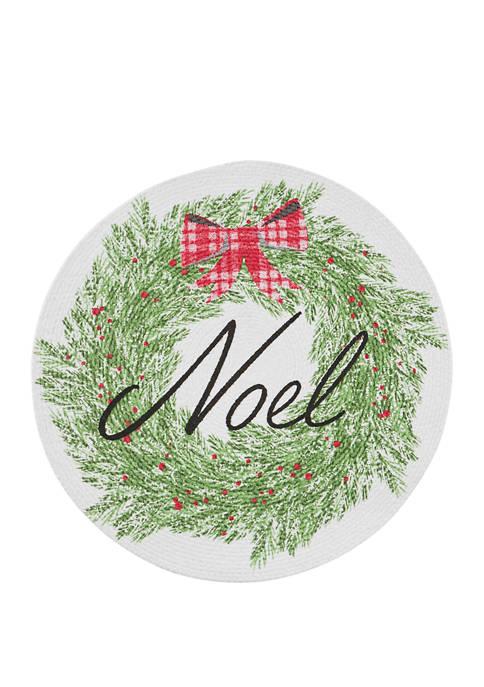 Noel Wreath Placemat