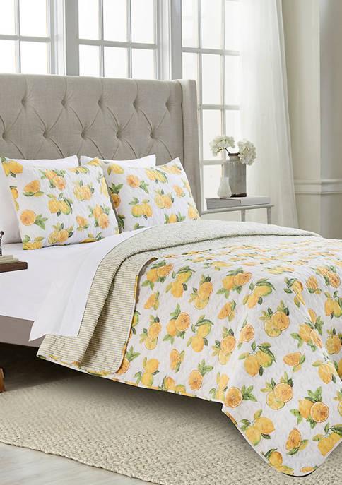 Modern. Southern. Home.™ Lolly Lemons Quilt Set