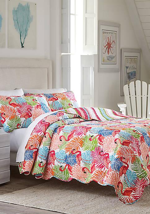 Tropic Flamingo Quilt