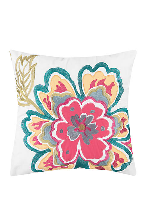 Modern. Southern. Home.™ Kaylee Paisley Embroidered Throw Pillow