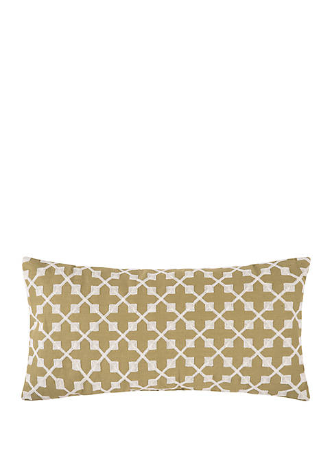 Arabella Embroidered Throw Pillow