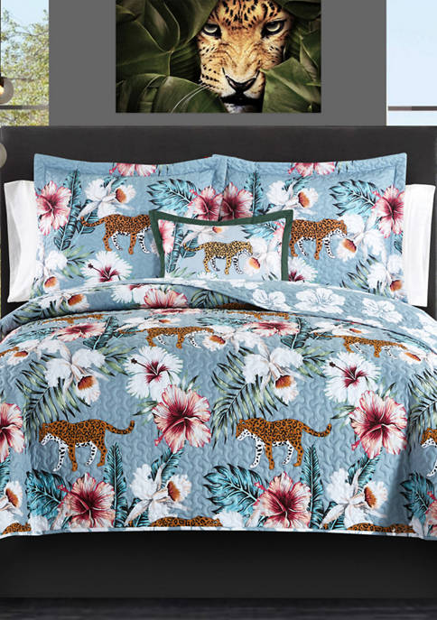 Chic Home Orithia Bed In a Bag Quilt